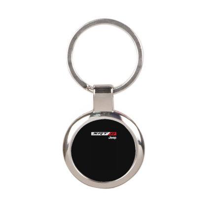 Srt 8 Jeep Round Keychain Designed By Fanshirt