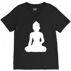 buddha V-Neck Tee | Artistshot