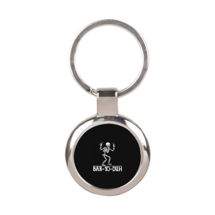 Skeleton Round Keychain Designed By Delicous