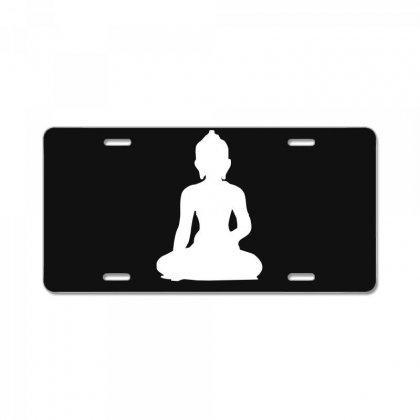 Buddha License Plate