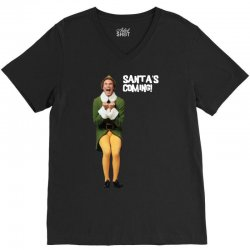 buddy the elf christmas V-Neck Tee | Artistshot
