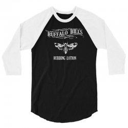 buffalo bill's rubbing lotion 3/4 Sleeve Shirt | Artistshot