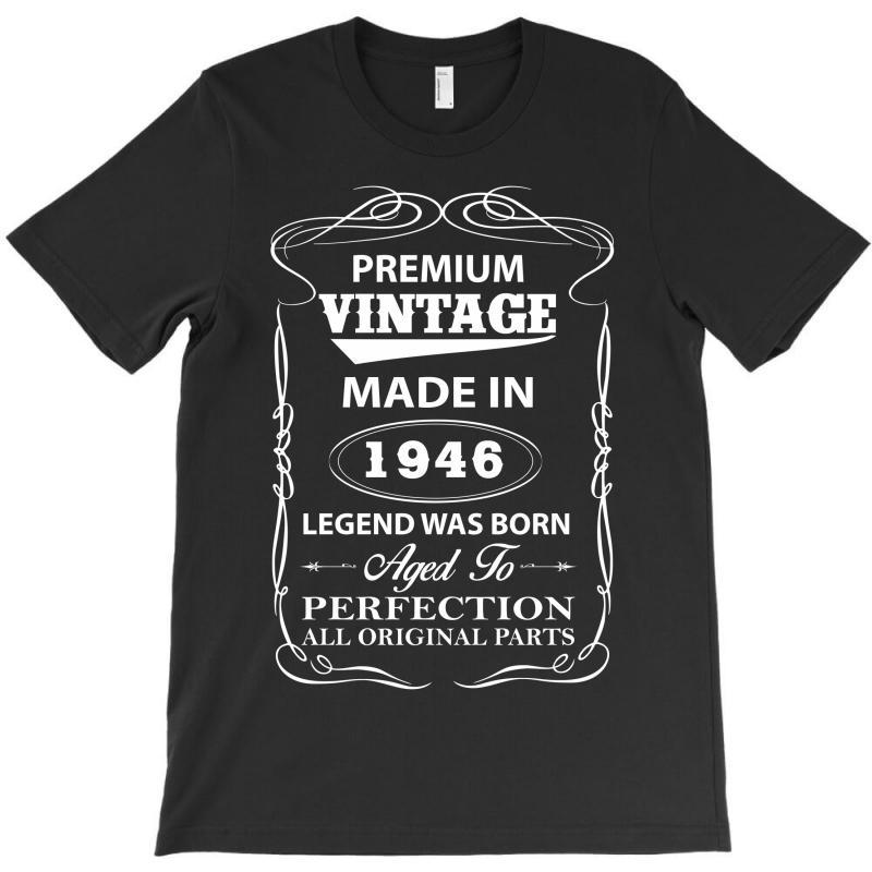 Vintage Legend Was Born 1946 T-shirt   Artistshot