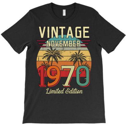 Vintage November 1970 Limited Edition T-shirt Designed By Badaudesign