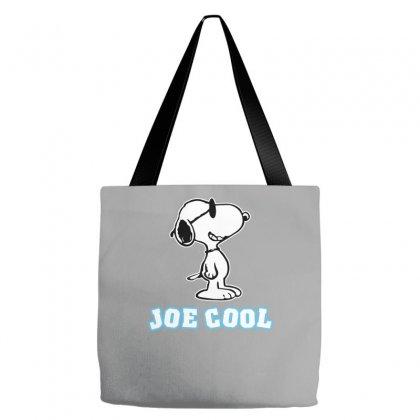Snoopy Joe Cool Vintage Tote Bags Designed By Mdk Art