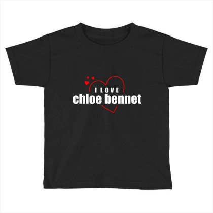 I Love Chole Bennet Toddler T-shirt Designed By Word Power