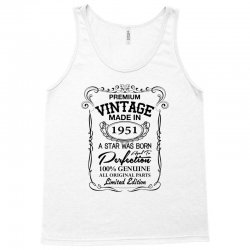 vintage made in 1951 Tank Top | Artistshot
