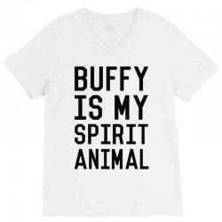 buffy spirit animal V-Neck Tee | Artistshot