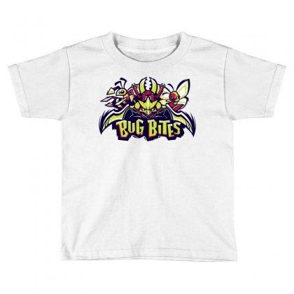 Bug Bites (2) Toddler T-shirt Designed By Monstore