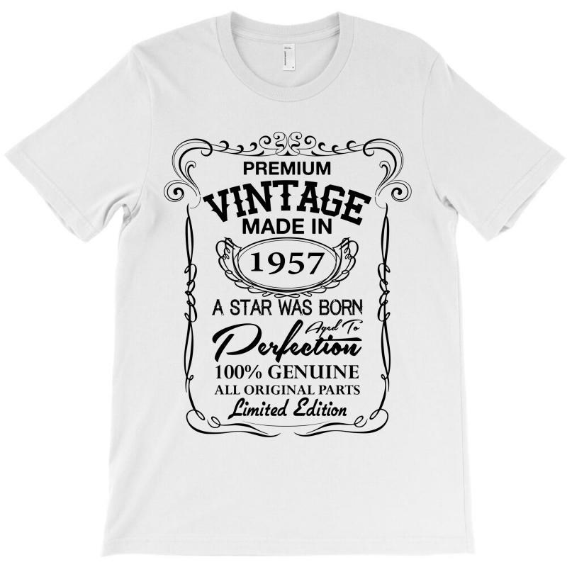 Vintage Made In 1957 T-shirt | Artistshot