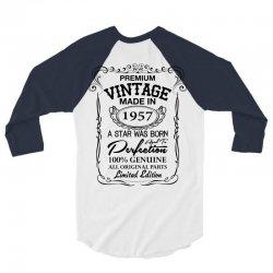 vintage made in 1957 3/4 Sleeve Shirt | Artistshot