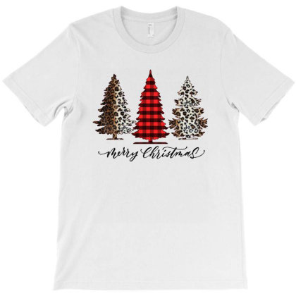 Merry Christmas Trees For Light T-shirt Designed By Sengul