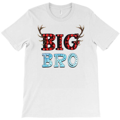 Big Bro Reindeer T-shirt Designed By Sengul