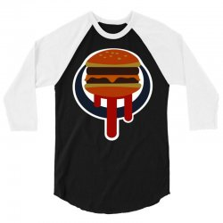 buger shot sign 3/4 Sleeve Shirt | Artistshot