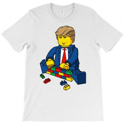 Build A Wall Trump 2016 (2) T-shirt Designed By Monstore