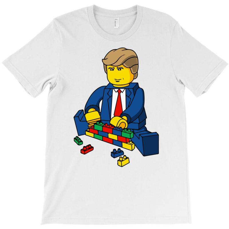 Build A Wall Trump 2016 (2) T-shirt   Artistshot