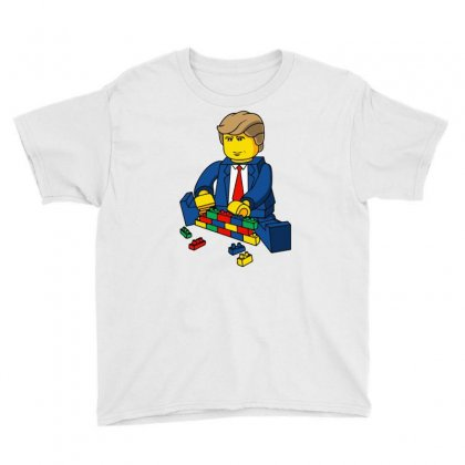 Build A Wall Trump 2016 (2) Youth Tee Designed By Monstore