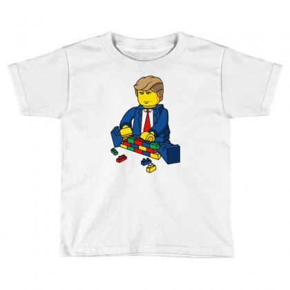 Build A Wall Trump 2016 (2) Toddler T-shirt Designed By Monstore