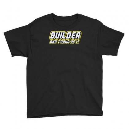 Builder Proud Youth Tee Designed By Monstore
