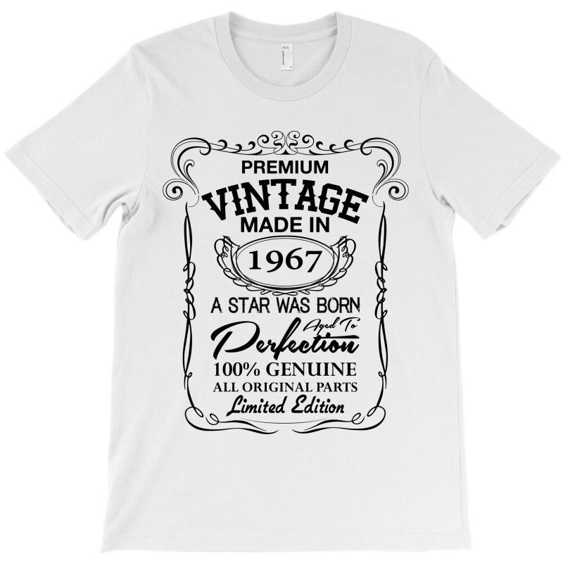 Vintage Made In 1967 T-shirt   Artistshot