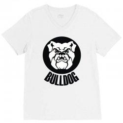 bulldogs V-Neck Tee | Artistshot