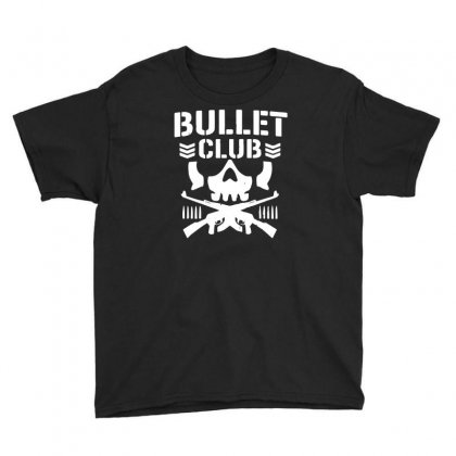 Bullet Club New Japan Pro Wrestling Youth Tee Designed By Monstore