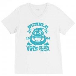 bumble swim club V-Neck Tee | Artistshot