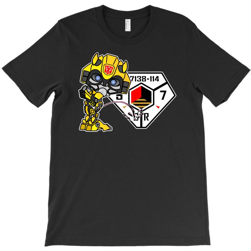 Bumblebee Peeing   Sector 7 V2 T-shirt | Artistshot