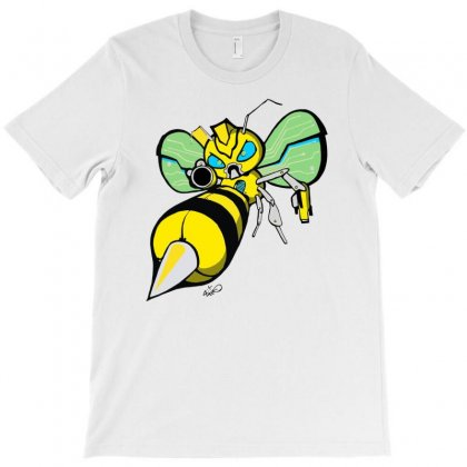 Bumble Bee T-shirt Designed By Monstore