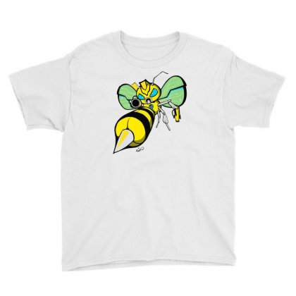 Bumble Bee Youth Tee Designed By Monstore