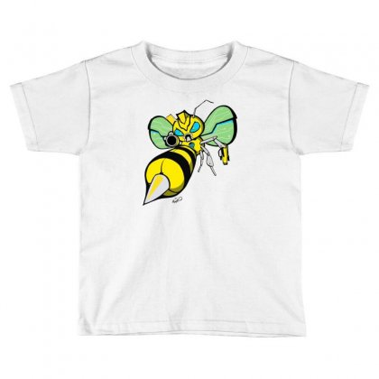 Bumble Bee Toddler T-shirt Designed By Monstore