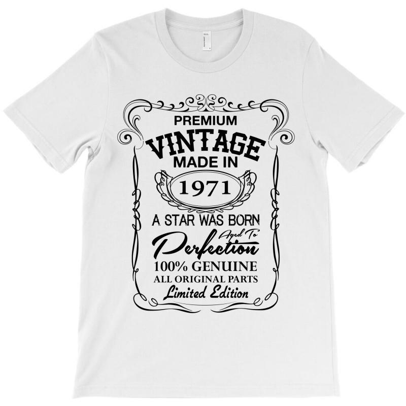 Vintage Made In 1971 T-shirt | Artistshot