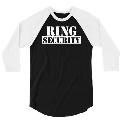 Ring Security 3/4 Sleeve Shirt Designed By Toldo