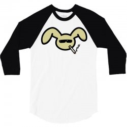bunneh man's 3/4 Sleeve Shirt   Artistshot
