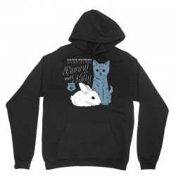 bunny and kitty Unisex Hoodie | Artistshot
