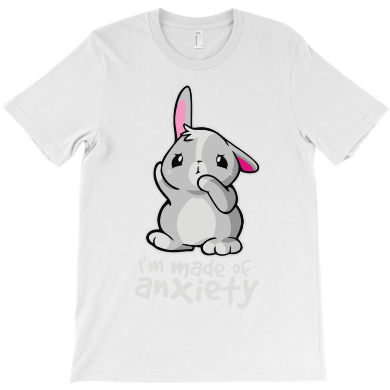 Bunny Anxiety T-shirt   Artistshot