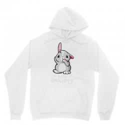 bunny anxiety Unisex Hoodie   Artistshot