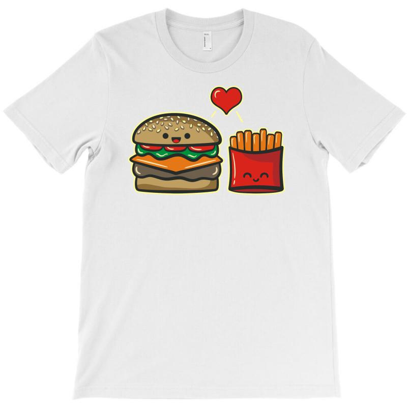 Burger And Fries T-shirt | Artistshot