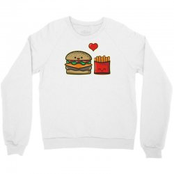 burger and fries Crewneck Sweatshirt | Artistshot