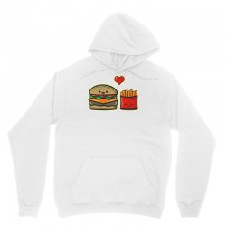 burger and fries Unisex Hoodie | Artistshot