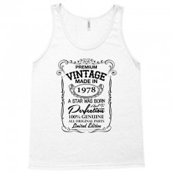 vintage made in 1978 Tank Top | Artistshot