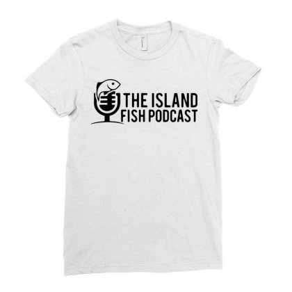 Podcast Ladies Fitted T-shirt Designed By Delicous