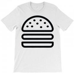 burger tee T-Shirt   Artistshot
