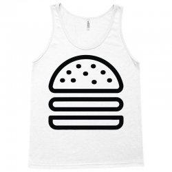 burger tee Tank Top   Artistshot