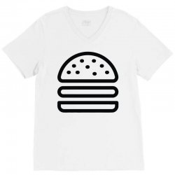 burger tee V-Neck Tee   Artistshot