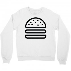 burger tee Crewneck Sweatshirt   Artistshot