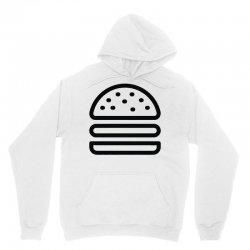 burger tee Unisex Hoodie   Artistshot