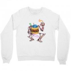 burgerobot Crewneck Sweatshirt | Artistshot
