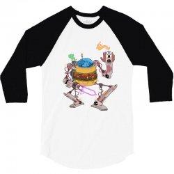 burgerobot 3/4 Sleeve Shirt | Artistshot
