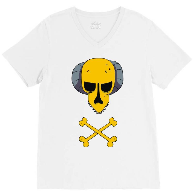 Burns Simpsons V-neck Tee | Artistshot